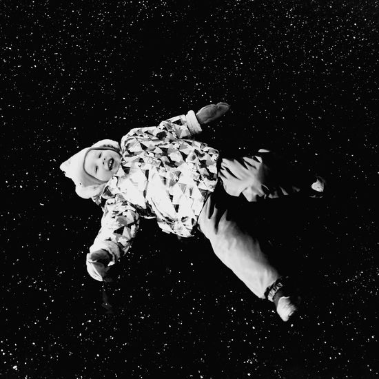 First Baby In Space Child One Person Planet - Space Space Space Exploration Star - Space Outdoors Freedom People Black Background Galaxy Mobile Photography Winter ıce