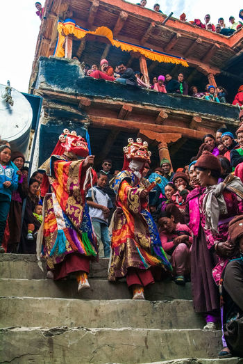 Karsha Gustor Festival at Karsha Gompa in Zanskar Valley Celebration Culture Festival Folk Gompa India Karsha Kursha Ladakh Leh Padum Religion Religious  Spirituality Traditional Clothing Travel Zanskar