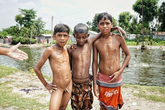 People Together Happy People Siliguri, North East India Family Poor Kids Laughing Children India Indiapictures Summer