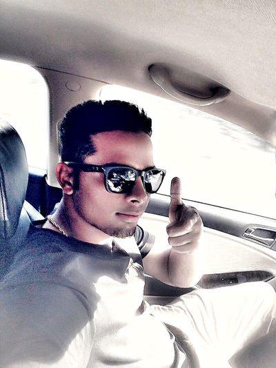 On d way ..,