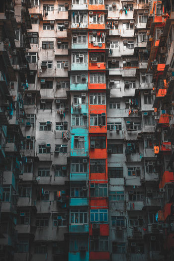 EyeEmNewHere HongKong Travel Abundance Architecture Backgrounds Building Building Exterior Built Structure Day Full Frame Large Group Of Objects No People Outdoors Street Photography Streetphotography Travel Destinations The Architect - 2018 EyeEm Awards