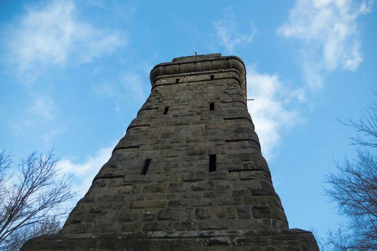 Tower 'Bismarckturm' in Herford Germany Herford Monuments Buildings Sky Denkmal Historical Building