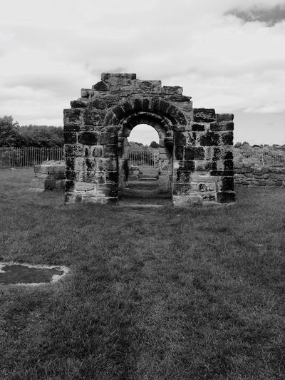 Wallsend Holy Cross Church Medieval 1000 Years Of History History Historical Monuments Witches Monochrome Black & White Black And White Collection  EyeEm Best Shots Eye4photography  Filtered Image EyeEm Abandoned Tyne And Wear Newcastle Upon Tyne North Tyneside Iphone 6