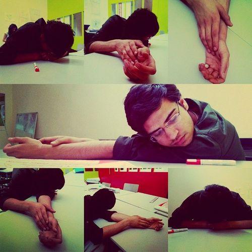 Snooze. Sleepingfriend College Overworked Green exhausted snooze sleeping hands afterpresentation sleepingbeauty