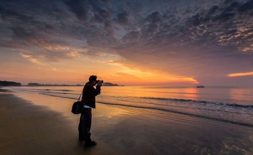 Sand Sea Water
