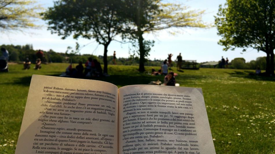 Enjoy The New Normal Thenewnormal London Park Reading Relaxing Spring Wimbledonpark Sunnyday