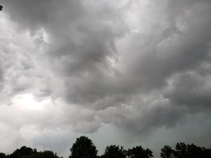 Tree Thunderstorm Storm Cloud Storm Sky Cloud - Sky Dramatic Sky Atmospheric Mood Meteorology Cloudscape Rainy Season