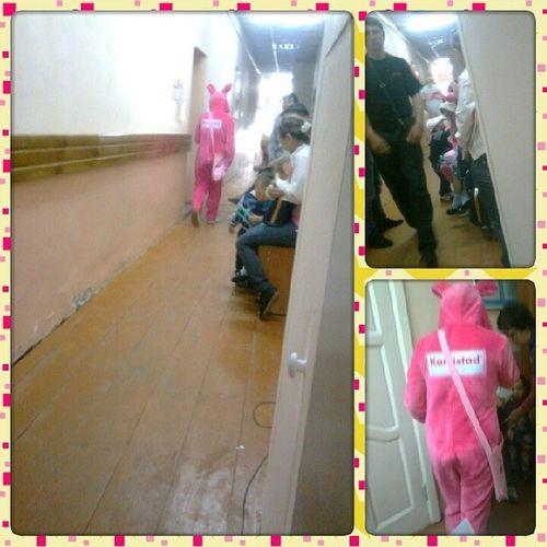 заяц розовый в_больнице случайно неожиданноприкольно@---♥