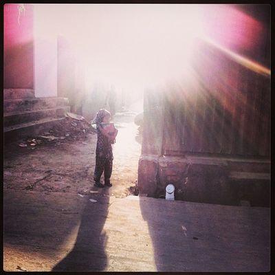 Sun Light Ray Street Chaktai Chittagong Shadow Instagram