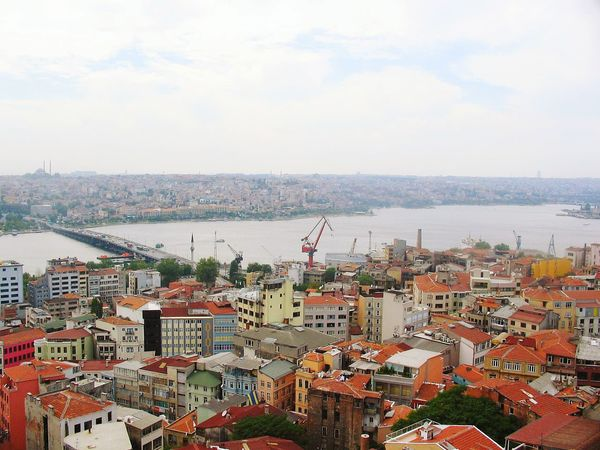 View From Above Aerial Shot From The Rooftop EyeEm Best Shots Eye4photography  Taking Photos Canonpowershot Cityscapes Galatakulesi Istanbul Turkey My Best Photo 2015