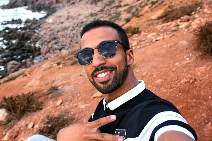 Outdoors Only Men Sunglasses Nature Morocco Beauty In Nature South Morocco Day Portrait One Person