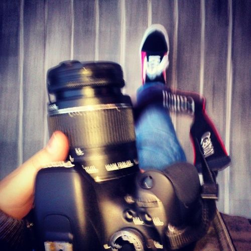 Canon Canon600D Wee Curar tarde frio jeans jean red pink mypicture