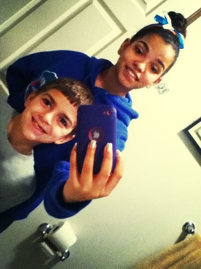 Me And Lil Cuz:)