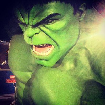 Green London Hulk IncredibleHulk Mmetussauds