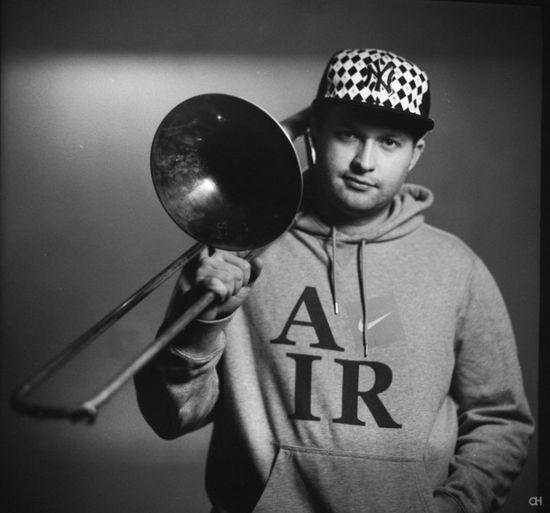 Blackandwhite Music Is My Life Trombone Funkybiznessgang