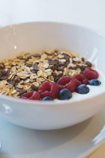 Bowl Breakfast Frühstück Cereals Müsli Fruits Früchte Joghurt Mit Beeren ❤️ Joghurt Yoghurt