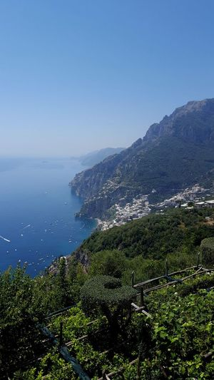 The Mountains Of Amalfi Coast Amalfi Coast Vacation Time Travel Destinations Tourism Tourist Attraction  Nature Beauty In Nature Water Sea No People Outdoors Day Landscape Tranquility Scenics Sky Mountain Clear Sky
