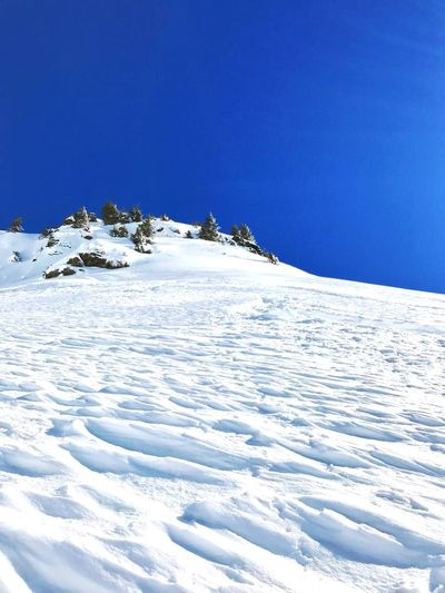 Enjoy EyeEm Nature Lover Enjoying Life Snow Winter Nature Tranquility Tranquil Scene Clear Sky Landscape Beauty In Nature Outdoors No People