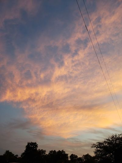 Thunder rolls Skyline Dusk Cloud Texas Sunset Flying Telephone Line Silhouette Steel Sky Sky Only Evening Meteorology Heaven Cumulonimbus Cumulus Cloud