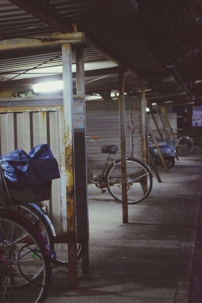 生きる 日常 Life Force Bycicle Bicycle Parking