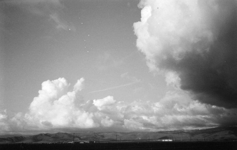 Cumulonimbus! Clouds Naturelovers Blackandwhite Kodak Minolta 35mm