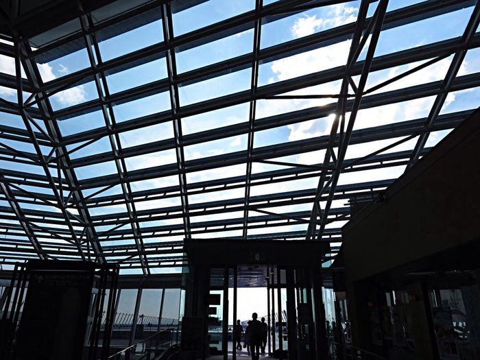 Airport On A Holiday Light And Shadow Sunlight Sunlight And Shadow Sunlight ☀ Architecture_collection Window
