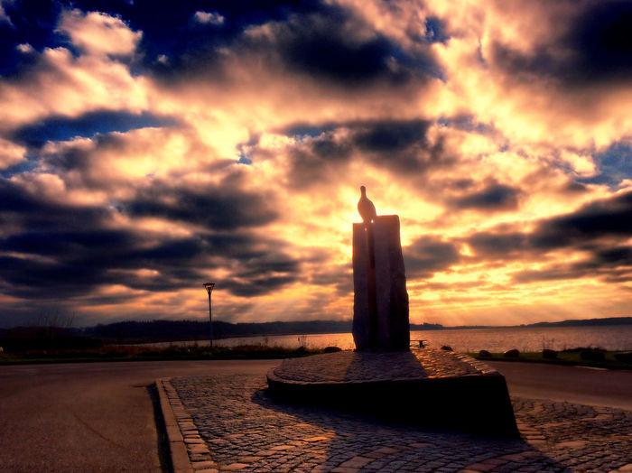 Tadaa Community Danmark Sebbersund Sunset Clouds And Sky Silhouette