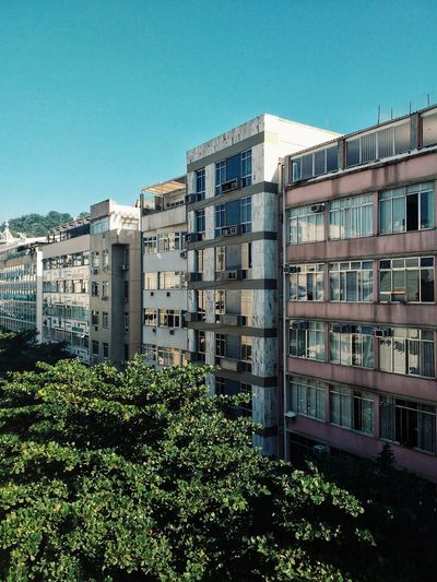 Apartment Building Exterior Outdoors No People Photograph Day City Sky Skyline Residential Building Residential Neighborhood South America Latin America Brazilian Skyscraper Modern Light And Shadow Color Colour Urban Architecture Latino Capital Cities  High Angle View Full Frame