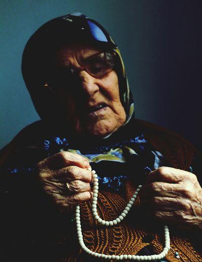Taking Photos of Grand Ma ... Enjoying Life at 90!!!! Istanbul Turkey