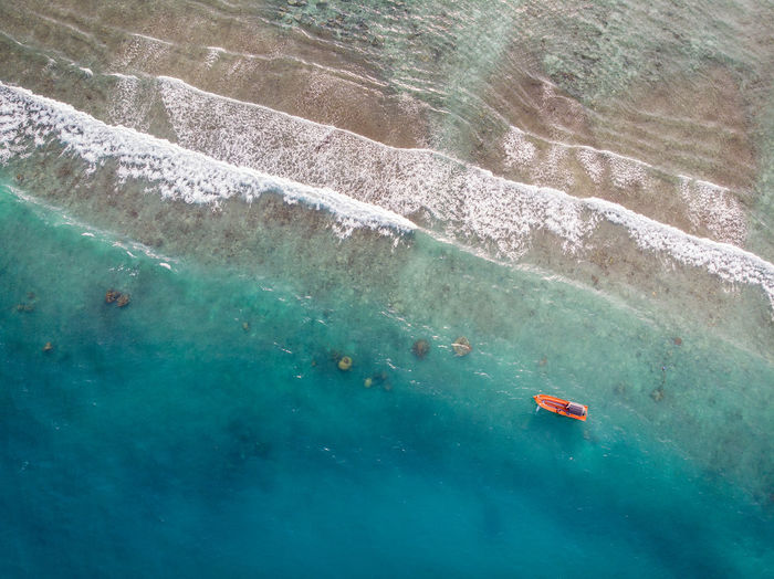 ASIA Perhentian Island Aerial View Beauty In Nature Boat Day Floating On Water High Angle View Holiday Malaysia Nature Nautical Vessel Ocean Outdoors Scenics - Nature Sea Swimming Terengganu Tranquil Scene Tranquility Transparent Travel Turquoise Colored Water