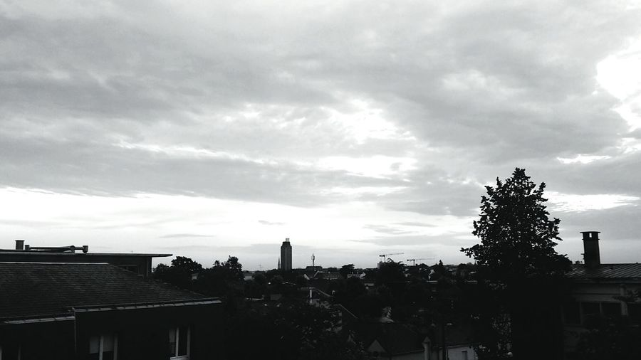 Nantes View From The Top Cityscapes Simplicity Monochrome France