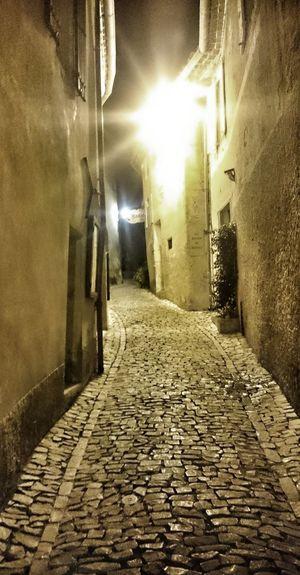 Illuminated Architecture Outdoors Building Exterior Provence Street Streetphotography Streetlight Streetlighting