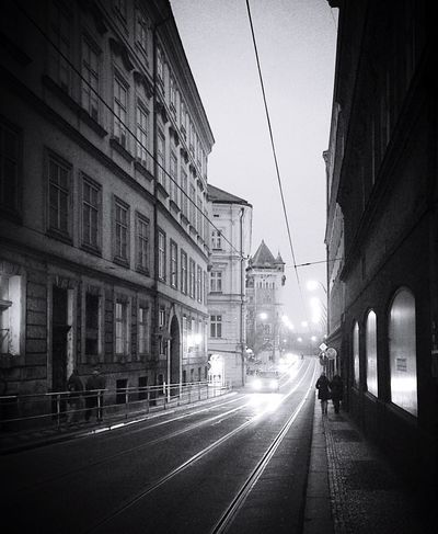 Dark isle - Prague Darkness And Light Building Exterior Road Outdoors Walking Around City Street City Lights At Night City Lights Cars Towards The Light Buildings Mysterious Prague Wondering Mind, Wandering Soul.