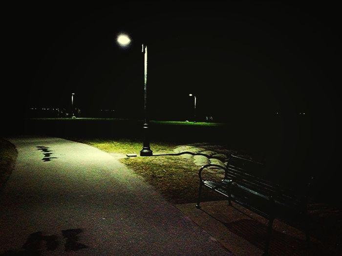 Midnight Longboarding