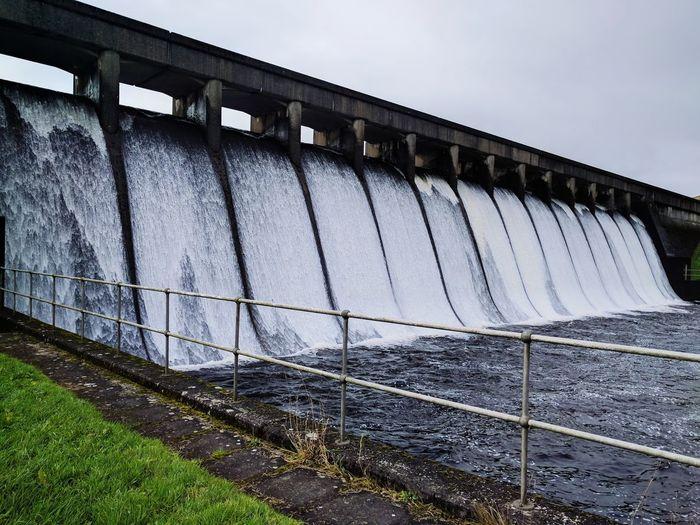 Bridge - Man Made Structure Architecture waterfall reservoir