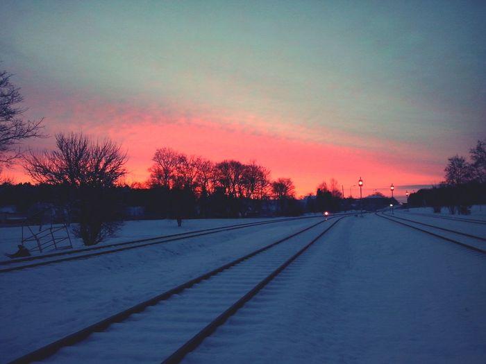 Morning Sunset Morning Enjoying Life Nature