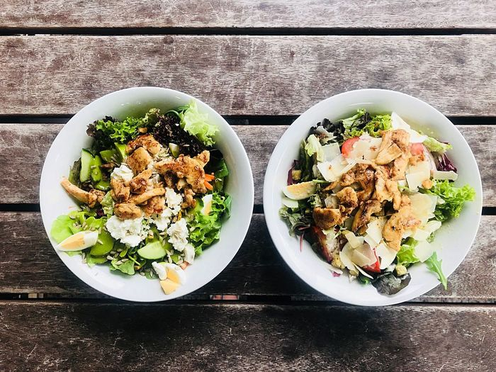 Healthy heaven Healthy Delicious Lunch food stories Food Salad Freshness Food And Drink Food Healthy Eating Wellbeing Table Ready-to-eat Bowl Serving Size Meal Healthy Lifestyle
