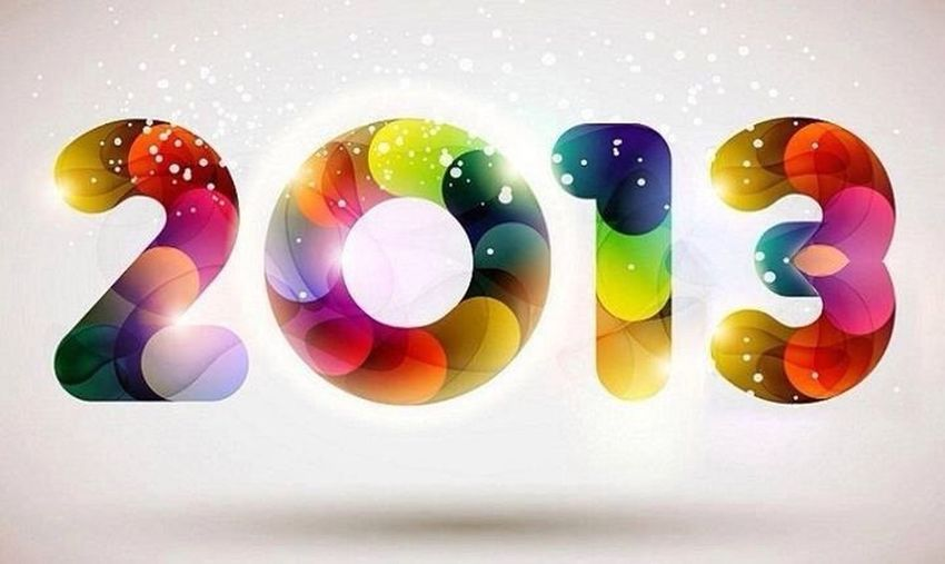 Goodbye 2012 Hello 2013 !