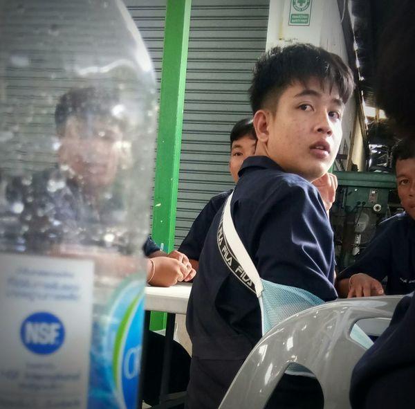 Thailand🇹🇭 เด็กเทคนิค นครราชสีมา ท้องฟ้า ท้องฟ้ายามเย็น Thailand Thailand Photos วิวสวย EyeEm Selects