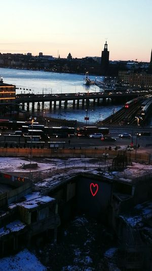 Sweden Stockholm City Illuminated Bridge - Man Made Structure City Cityscape Love Loveinmysteriousplaces