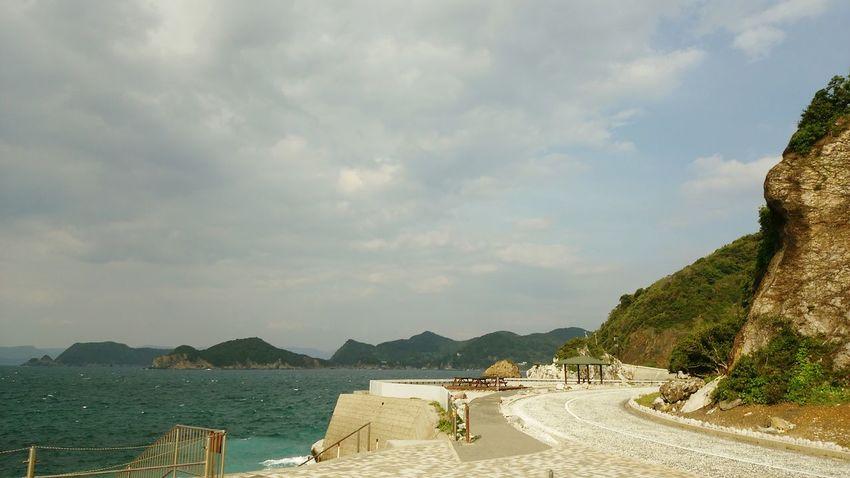 Hello World Holiday Nature Seaside Sky And Sea Drive Street Japan Photography Wakayama,japan Ultimate Japan