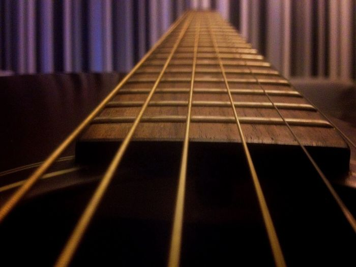My attempt at an iPhone depth of field Guitar Music IPhone