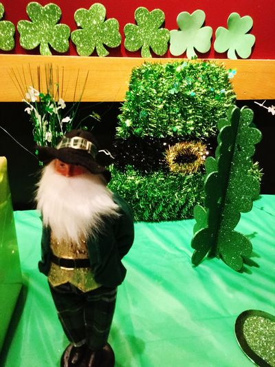 Showcase March Green St. Patrick's Day Luck Of The Irish Shamrock Festive Holiday Decoration Celebration Eye4photography  Eye Em Around The World Indoors  IndoorPhotography Interior Views