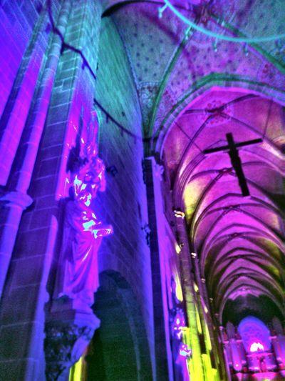 Marienkirche Reutlingen Kirchenschiff Orgelkonzert Church Light And Shadow Colorful Lights Architecture_collection Parallel Lines Medieval Architecture