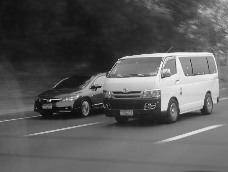 """race ?"" Monochrome Panningphotography Panning Shoot Black & White Panning Motion Black And White Blackandwhite Car No People Day"
