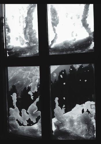 Frozen Window EyeEm Best Edits EyeEm Best Shots Bw_collection Blackandwhite