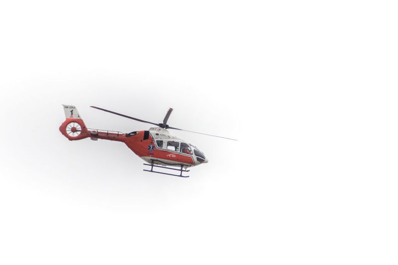 Helicopter in