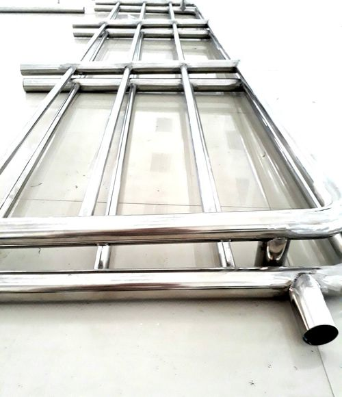 Weld stainless steel pipe Stainless Steel  City Window Architecture Building Exterior Close-up Built Structure Boat Mast Moored Fishing Boat Nautical Vessel Settlement