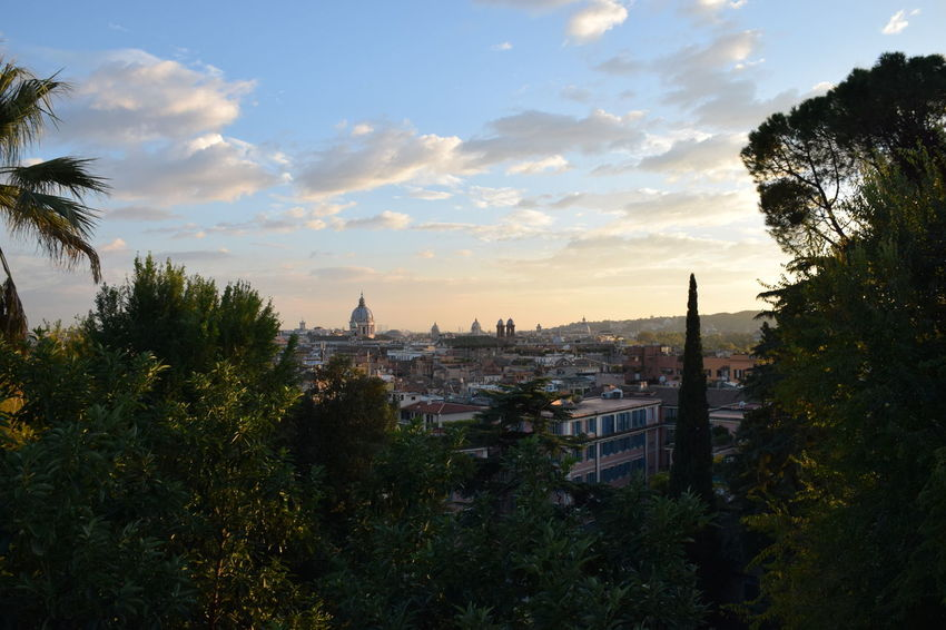 Beautiful sunset over Rome. Rome Italy Travel Photography Magic Hour Skyporn EyeEm Best Shots Bestoftheday Taking Photos Enjoying Life Earth Trek