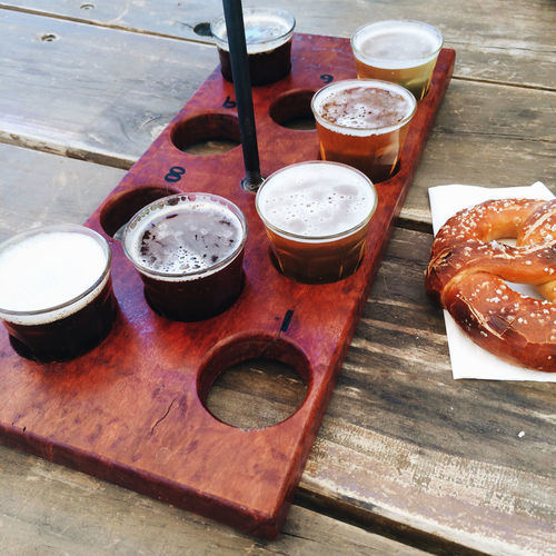 Beer Drinking Beer Craft Craft Beer Craftbeer Beer Tasting  Beer Sampling Samples Tastings Pretzel